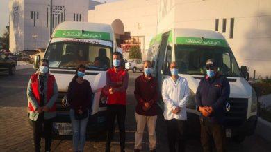 صورة تقديم الخدمة الطبية لـ 75 أفراد من الوفود المشاركة في البطولة خلال فعاليات مباريات أمس