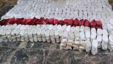 صورة فرار عصابات لتهريب المخدرات تابعة لحزب الله أمام ضربات الجيش الأردني جنوب السويداء ومصادرة حمولة المخدرات