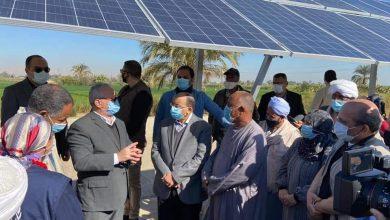 صورة وزير التنمية المحلية ومحافظ الأقصر يزوران قرية البغدادي