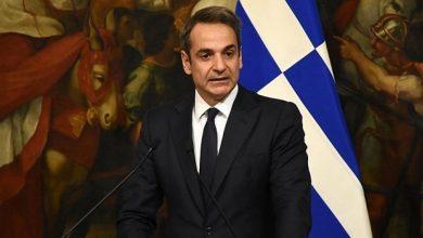 صورة رئيس الوزراء اليوناني في زيارة رسمية