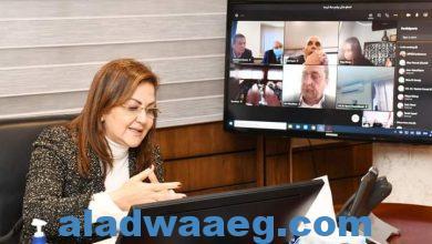صورة السعيد تدرس مع رؤساء البنوك وشركات التمويل آليات التمكين الاقتصادى في قرى حياة كريمة