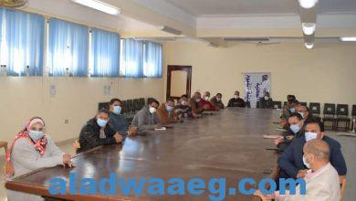 صورة اجتماع برئاسة السيد الأستاذ / احمد شاكر رئيس مركز ومدينة الفيوم