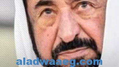 صورة حاكم الشارقه تبرع لبناء مركز ثقافي
