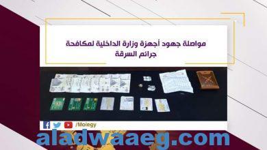 صورة مواصلة جهود وزارة الداخليه لمكافحة جرائم السرقه
