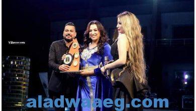 صورة تكريم الفنانة صفاء جلال عضو لجنة تحكيم مهرجان Miss_Nile3