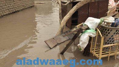 صورة تعرض عدد من المناطق بالنيل الأبيض لفيضانات واسعة