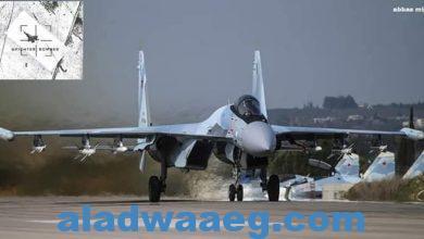 صورة تصادم جوي بين القوات الجوية الروسية والأمريكية فى الأجواء السورية
