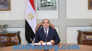 صورة الرئيس عبدالفتاح السيسي يوجة كلمة لقضاة افريقيا في اجتماع القاهرة