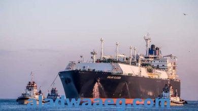 صورة بعد توقف ثمان سنوات ميناء دمياط يستقبل أول سفينة لتصدير الغاز المسال