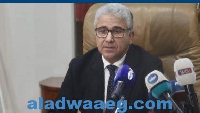 صورة نجاة وزير الداخلية الليبي من محاولة اغتياله