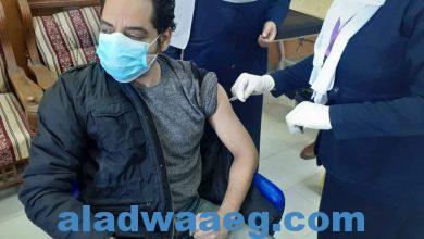 صورة بالصور .. وكيل وزارة الصحة يتلقى الأطقم الطبية