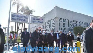 صورة وزيرة الصحة تصل الأقصر لبدء زيارتها الميدانية