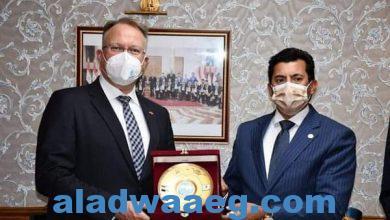 صورة وزير الشباب يشهد توقيع بروتوكول تعاون لدعم وبناء قدرات الشباب المصري