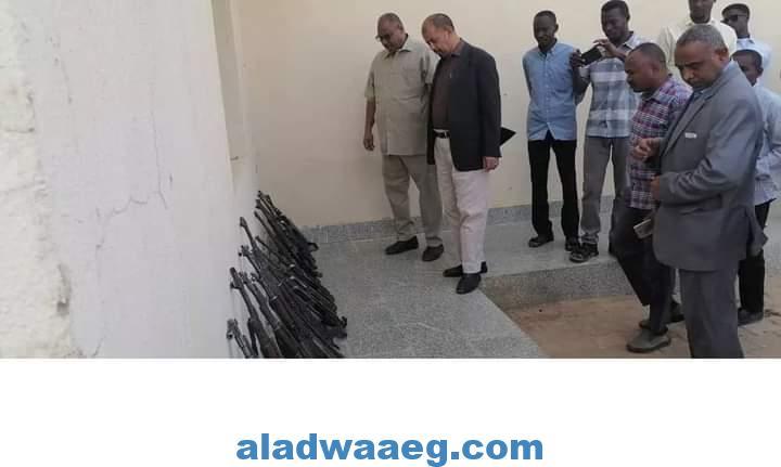 جهاز المخابرات السوداني يضبط كمية من الأسلحة بشمال كردفان