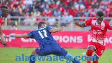 صورة هزيمة النادي الأهلي أمام سيمبا التنزاني بهدف وحيد