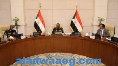 صورة الإجتماع المشترك لمجلسي السيادة والوزراء بالسودان يجيز عددا من القوانين