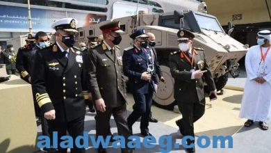 صورة القائد العام للقوات المسلحة وزير الدفاع والإنتاج الحربى يعود إلى أرض الوطن
