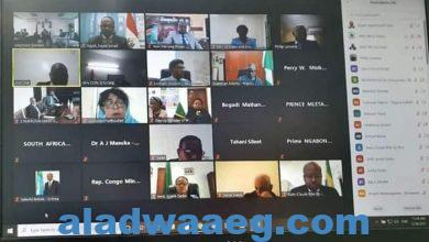 صورة وزارة الإسكان تشارك فى الاجتماع الثاني عشر للجمعية العمومية لمجلس وزراء المياه الأفارقة