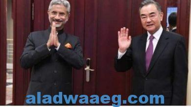 صورة محادثات صينية هندية بعد الإتفاق علي سحب القوات من المناطق الحدودية