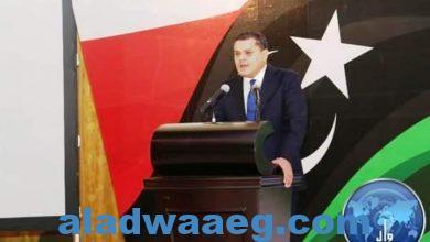 صورة الدبيبة: استعادة الأمن والسيادة الوطنية علي رأس أولويات الحكومة