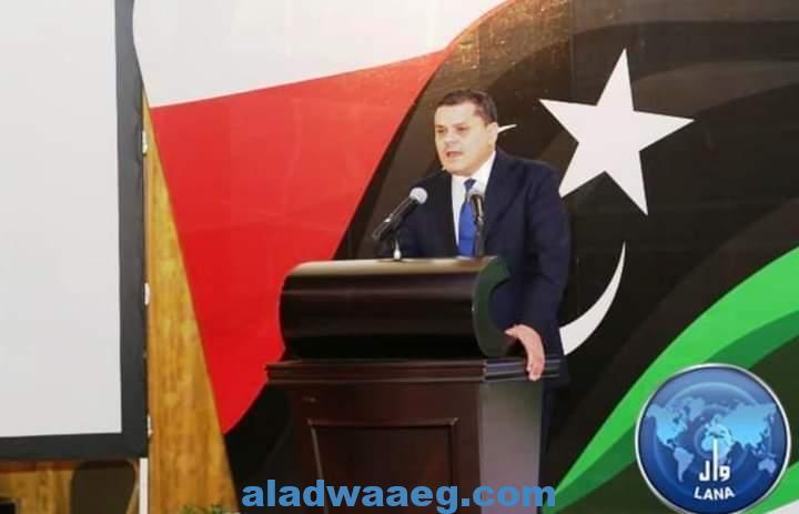 الدبيبة: استعادة الأمن والسيادة الوطنية علي رأس أولويات الحكومة