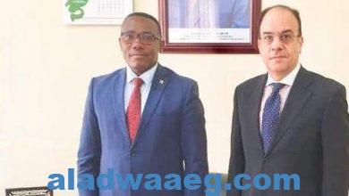 صورة السفير المصري في بوجومبورا يلتقي بوزير الصحة البوروندي