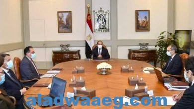 صورة السيد الرئيس يتطلع علي مستجدات الموقف التنفيذي للبنية التحتية التكنولوجية