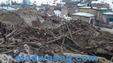 صورة صورة من آثار زلزال ألاسكا عام 2018