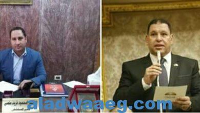 صورة مستشفى البدرشين شكل تان مع المدير الجديد محمود فريد