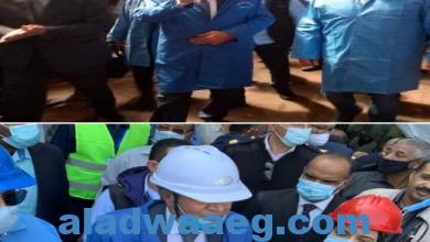 صورة الوزير يتفقد سير العمل بمطاحن وصومعة ادفو فى ثان جولاتة بالصعيد