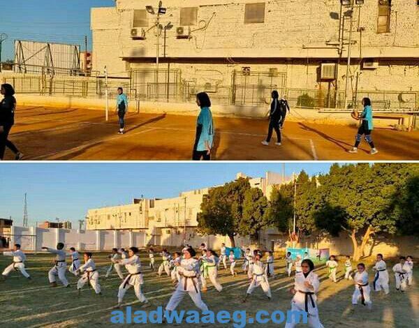 انطلاق فعاليات المهرجان الرياضي بمحافظة الوادي الجديد