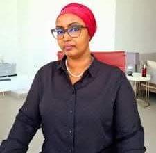 صورة خسارة مرشحة جيبوتي حسنة بركت