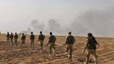 """صورة """"الجيش الوطني"""" يعلن إحباط محاولة تسلل لقسد في محيط جرابلس والباب بحلب"""