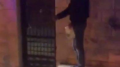 صورة اصابة ثلاثة من رجال الدفاع المدني بجنين