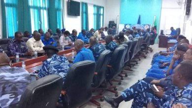 صورة شرطة ولاية الخرطوم تستقبل مديرها الجديد