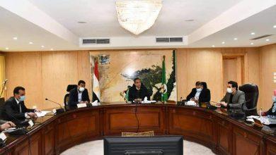 صورة خلال اجتماع اللجنة المركزية لمتابعة موقف كورونا بالمحافظة ..