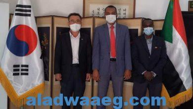 صورة تعاون بين اتحاد التايكوندو وسفارة كوريا لإنشاء مركز تدريب دولي