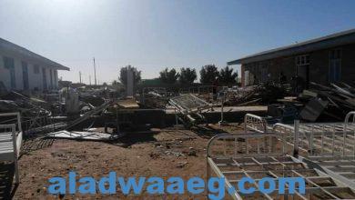 صورة إعادة تأهيل مستشفى مروي