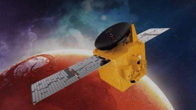 صورة مسبار الأمل الإماراتي ينجح في الوصول إلى مداره بكوكب المريخ