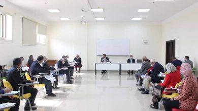 صورة وزير التعليم العالى يترأس اجتماع مجلس شئون المعاهد