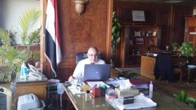 صورة في اطار متابعة مشروعات وأعمال الوزاره – الاجتماع الدوري للقيادات