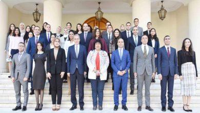 صورة وزيرة الثقافة تلتقي الدفعة 53 ملحقين دبلوماسيين