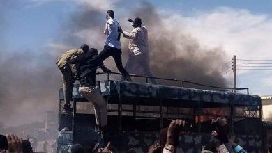 صورة أعمال عنف ونهب بمدينة نيالا بجنوب دارفور