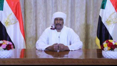 صورة رئيس مجلس السيادة الانتقالي يوجه كلمة اليوم