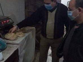 صورة تحرير 34 مخالفة تموينية، و22 محضر لعدم ارتداء الكمامة بمركز ملوى بالمنيا