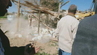 صورة إزالة 3 حالات تعد بالبناء ورفع المخلفات الصلبة خلال حملات بقرية طوخ الخيل بالمنيا