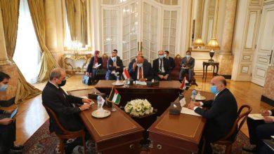 صورة اجتماع الثلاثي بين مصر والأردن والعراق..