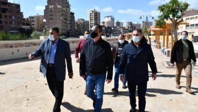 صورة محافظ الفيوم يتفقد سير العمل بمشروع تطوير كورنيش بحر يوسف
