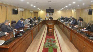صورة محافظ أسيوط يترأس اجتماع مناقشة الموقف التنفيذى