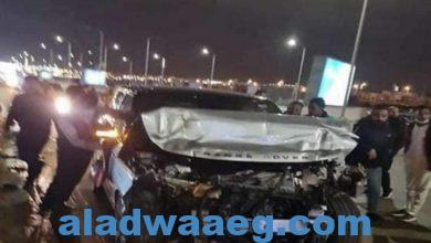 صورة الإعلامي عمرو أديب يتعرض لحادث سير